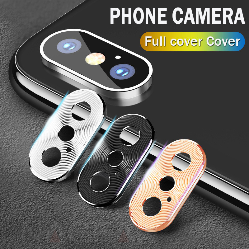 Full cover Mobile Phone Camera Protective Film For iPhone XS