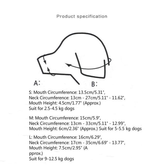 Regolabile Ornitorinco Pet Cane Museruola per Teddy Yokie Anti-mordere Barking Da Masticare Bocca Museruole per Small Medium Large Extra cani