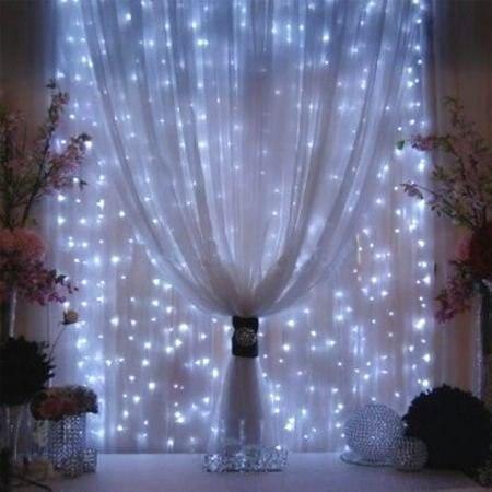 Envío Gratis led cortina de luces de hadas 6*3M 600 LED a todo color CE RoHS Navidad luz led para árbol cortina de luces - 3