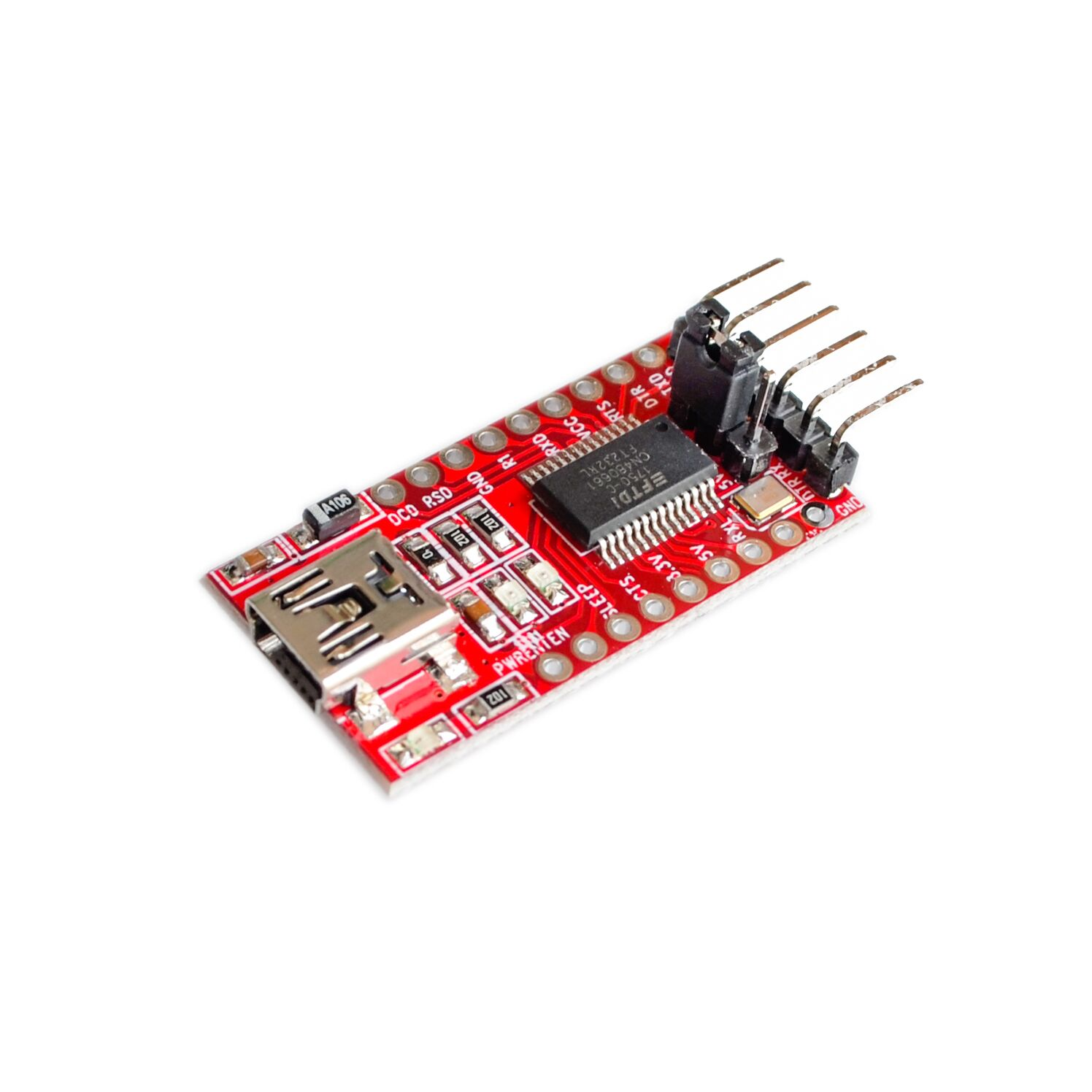 FT232RL FT232 USB TO TTL 5V 3.3V Download Cable To Serial Adapter Module  USB TO 232