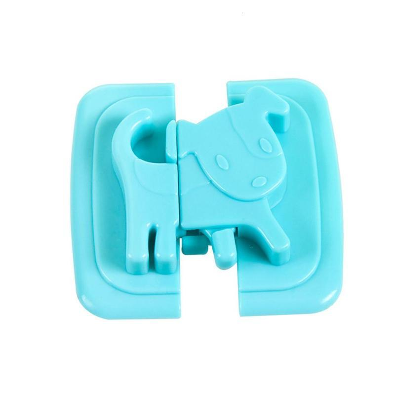 2pcs-Puppy-Shape-Safety-Locks-for-Refrigerators-Door-Baby-Safe-Protection-From-Children-Lock-Castle-Security (4)