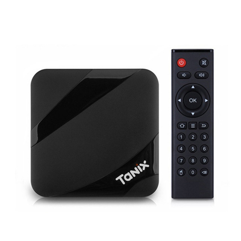 Tanix TX3 Max TV Box Amlogic S905W Android 7.1 avec Nouvelle ALICE UX 2 GB 16 GB ROM 2.4 GHz wi-Fi 4 K 100 Mbps LAN BT4.1 Set Top Box
