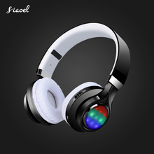 Free shipping Wireless Bluetooth  Headset  BT 4.2 Earphones Stereo Headphones with Mic FM Radio For Tablet TV PC Mobile phones new tv rechargeable multifunction 2 4g wireless headset tv headphones with microphone for tv pc ipad phones mp3 gifts
