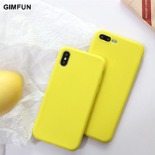 huge selection of dc0d5 460cb Buy matte yellow iphone 6 case and get free shipping on AliExpress.com
