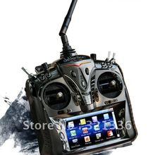 Walkera DEVO 12S 12CH 2,4G сенсорный экран передатчик ж/DEVO-RX1202 приемник Alu чехол контроллер DEVO12S