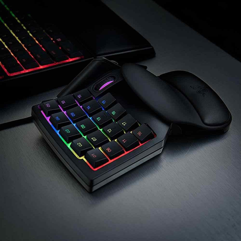 Razer Tartarus V2 Chroma Mecha Gaming Keypad 32 Kunci Membrane Keyboard Kabel Sepenuhnya Diprogram Lampu Latar Kunci Mekanik