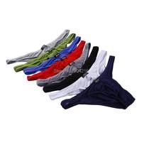 8PCS Lot Sexy Modal Men S Bikini Briefs Panties Shorts Underpants Low Waist Underwear Briefs 8