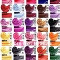 5 пк / lot моды женщины в пашмина акрил длинная шаль женщины шарфы мужские шарф 40 цветов