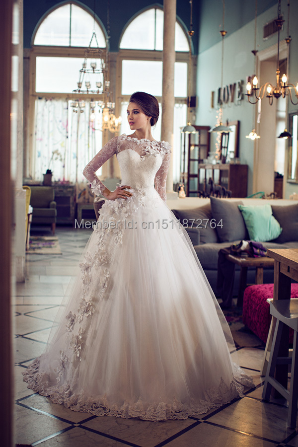 Princess Style Wedding Dresses With Sleeves | Wedding Gallery