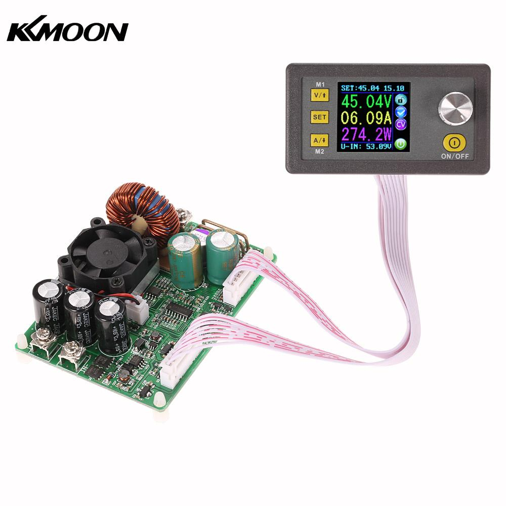 LCD Digital Programmable Constant Voltage Current Step-down Power Supply Module DC 0-50.00V/0-15.00A maitech dc dc step down constant voltage constant current module yellow