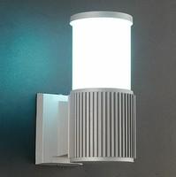 Oświetlenie zewnętrzne aluminium pojedynczy klosz zewnętrzne lampy ścienne led na dziedzińcu światła schodowe led Eclairage Exterieur w Zewnętrzne kinkiety LED od Lampy i oświetlenie na