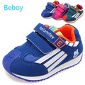 Anti-slip Baby Girls Boys Running Sneaker Resistant Toddler Sport Shoes Unisex Double Strap Walking Shoes for All Seasons