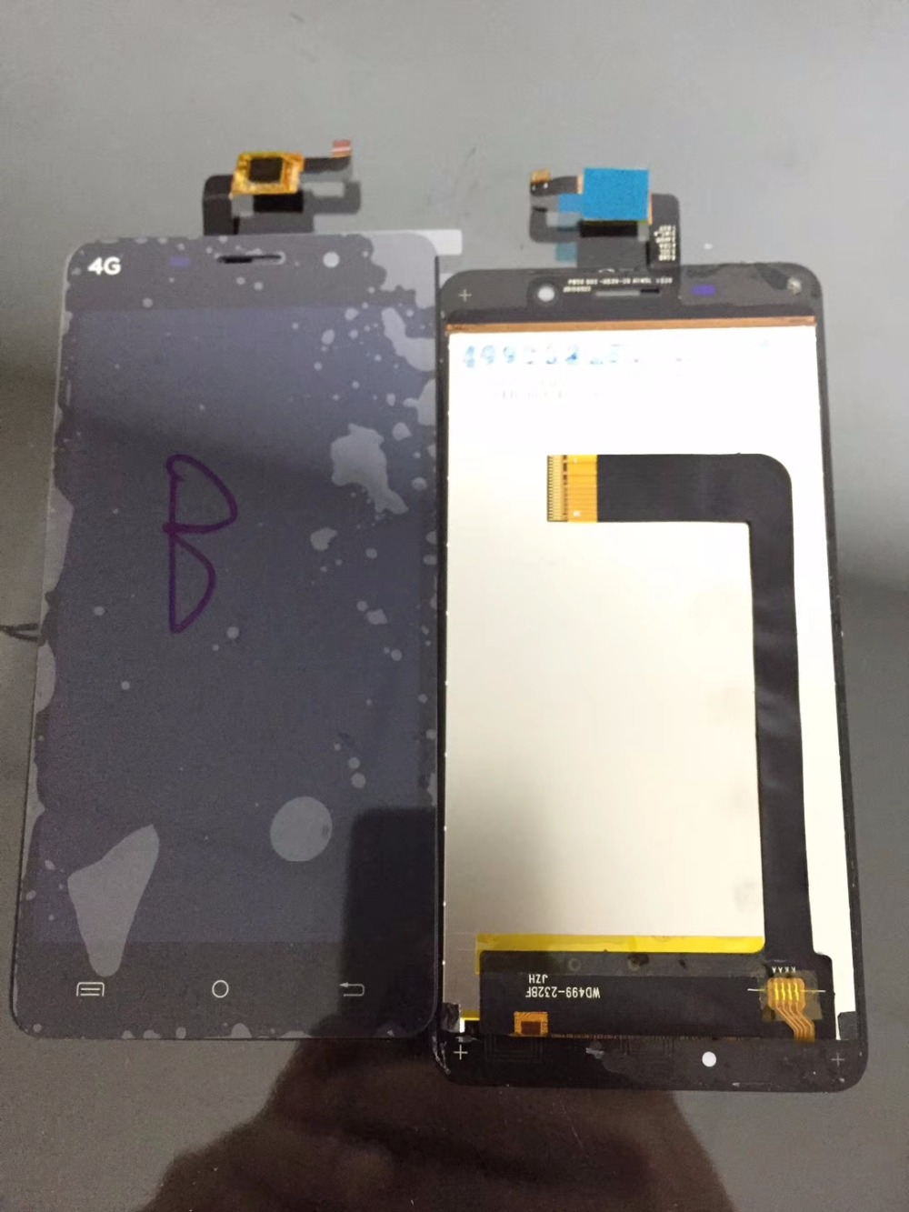 5inch Touch Screen with LCD Display Assembly Screen ZJX-1448 WD499-232BF FOR CUBOT X9 Digitizer phone parts