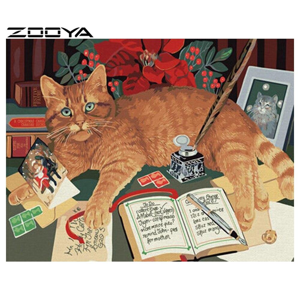 pussy painting 5D DIY Diamond Painting Full Drill Embroidery Cross Stitch Diamond  Rhinestone Decor Needlework Mosaic Animal Cat