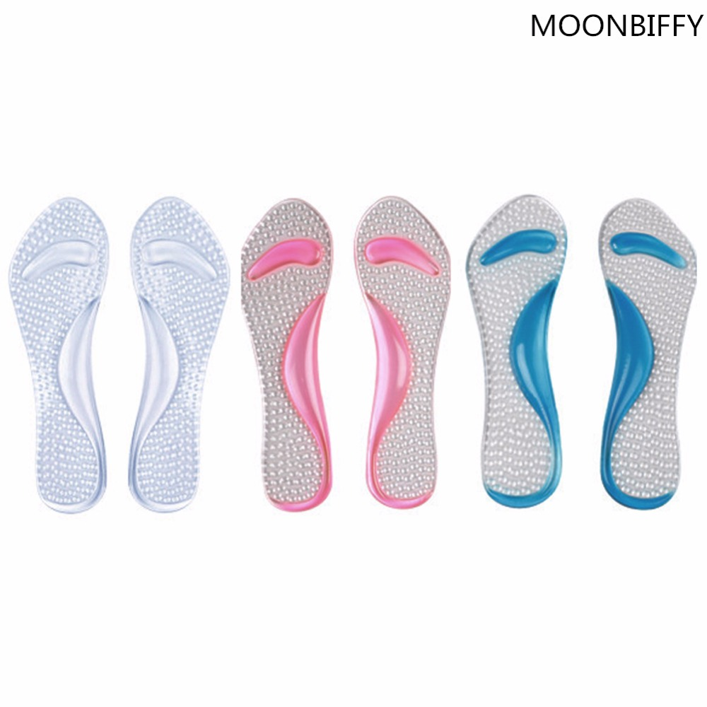 new non slip gel 3 4 length arch support anti slip