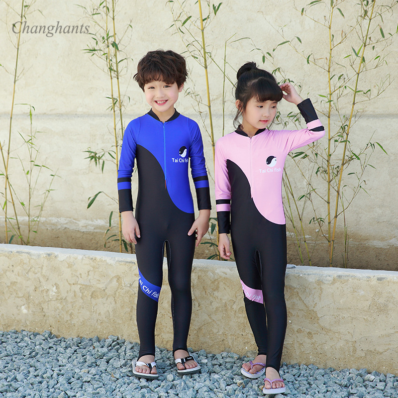 Unisex Kids Baby Swimsuit One Piece Shark Swimwear Rash Guard Costume Surf Suit