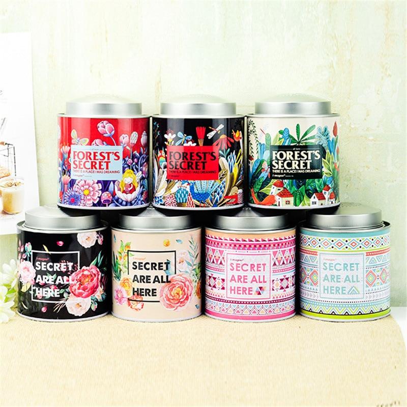 Storage-Container Bins Packing-Iron-Box Sundries-Decorative Jewelery Gift Candy Secret