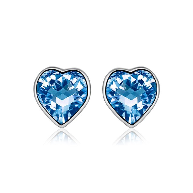 burch light tradesy earrings blue tory stud i