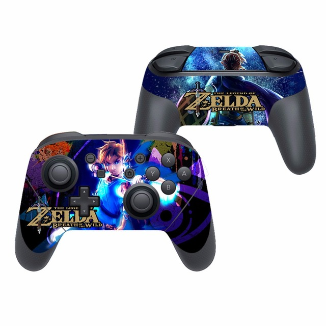 Game The Legend of Zelda Vinyl Cover Decal Skin Sticker for Nintendo Switch Pro Controller Gamepad Skin Stickers 1
