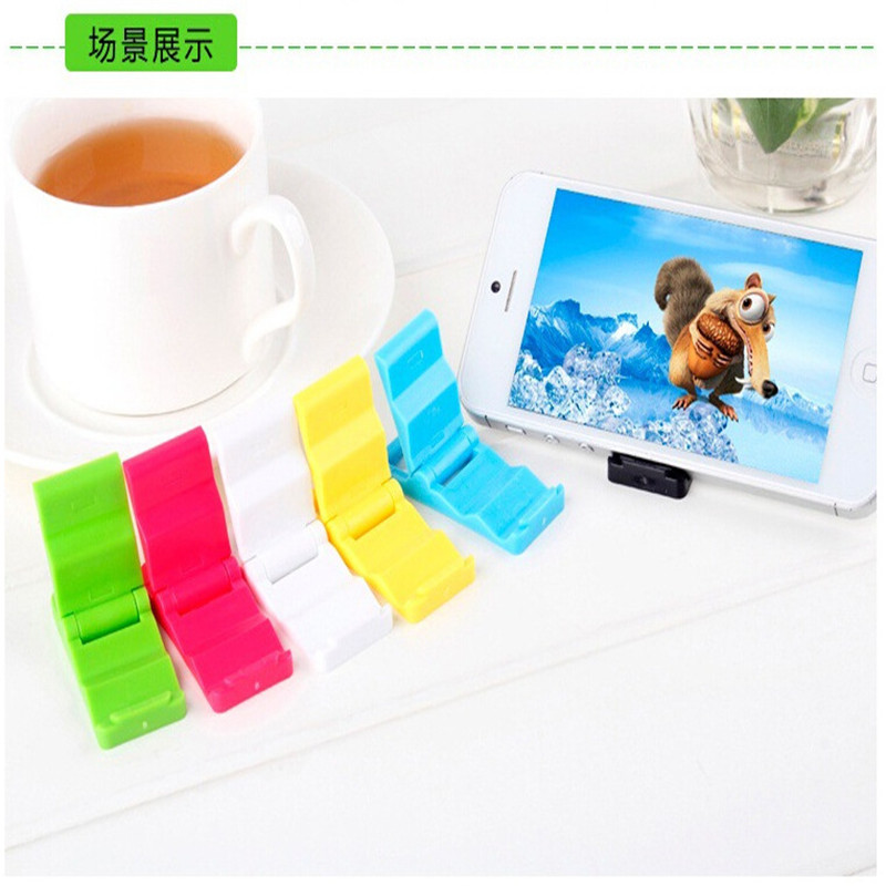 Universal Folding Table Cell Phone Support Plastic Holder Desktop Stand For Your Phone Smartphone &Tablet Support Phone Holder