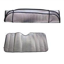 1 قطعة طوي العالمي نافذة السيارة الشاشة الجبهة قناع غطاء الحرارة الجبهة الخلفية كتلة الزجاج الأمامي الشمس الظل عاكس ظلة