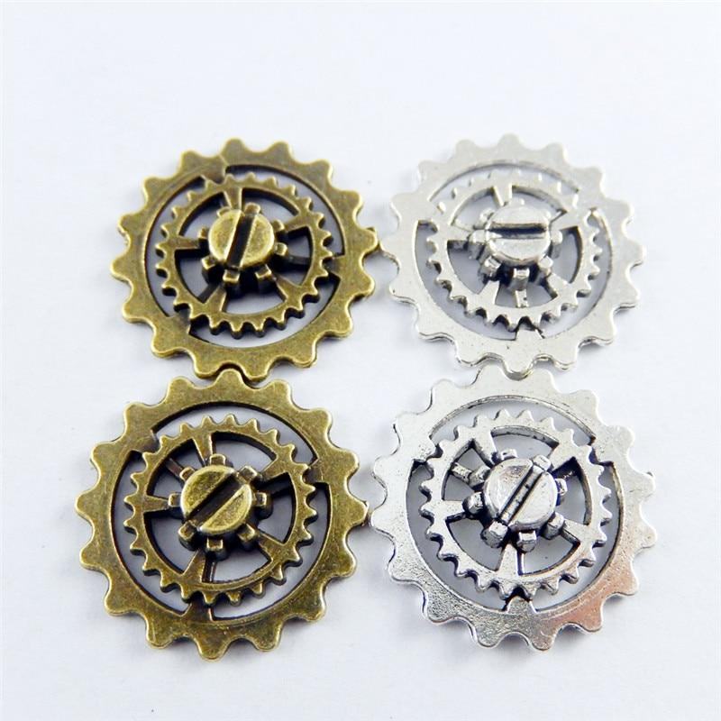 rivets punk hotfix strass 250 pcs rivets décoratifs ronds 17,5mm argent inoxydable