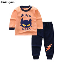 Kids 2017 Boys Sports Suit FlASH CAT 12M24M3T4T6T8T Caters Girls Clothing Set Toddler Baby Boys Sweatshirts Outfits + Pants Set
