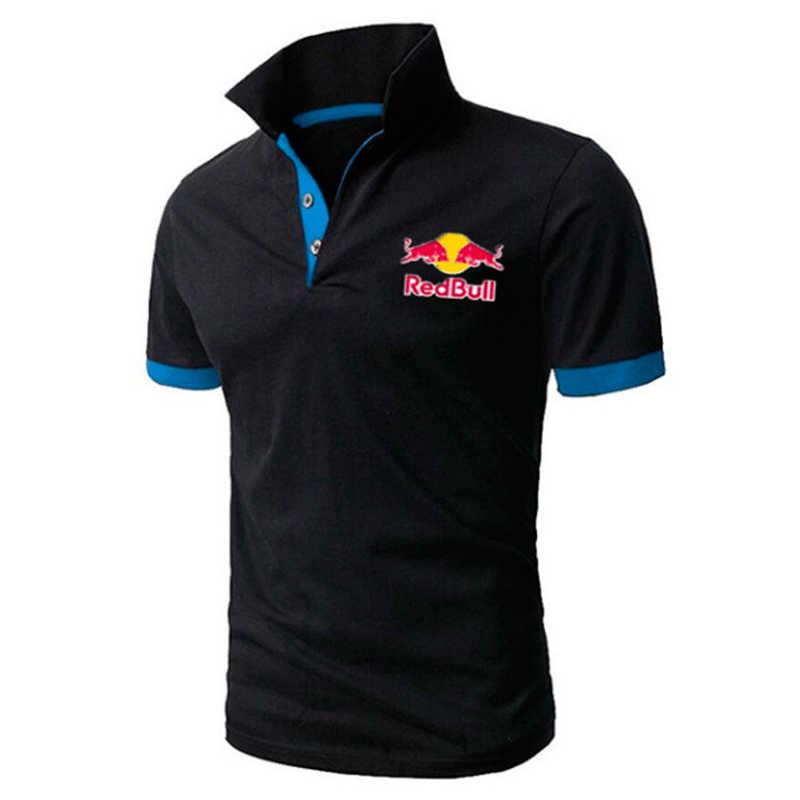 Мужские поло деловая рубашка поло для офиса брендовая Летняя мужская s рубашка поло мужская одежда однотонная Повседневная хлопковая дышащая рубашка 2019 Мужская