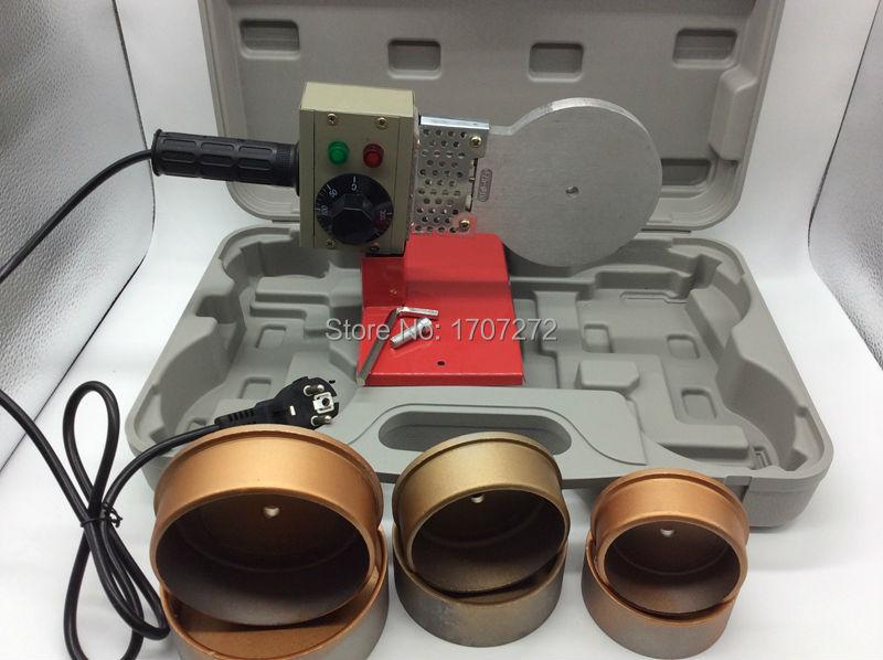 Temperature Control Plastic Welder, Ppr Pipe Welding Machine AC 220V 1500W, 75-110mm Weld Plastic Pipe