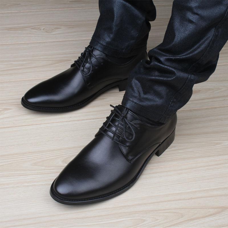 Zapatos casuales para hombre de lujo de cuero genuino pisos brogues oxfords de negocios zapatos formales para hombre vestido de fiesta derby zapatos hombre