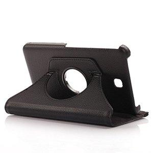 Вращающийся на 360 градусов Чехол-книжка из искусственной кожи для Samsung Galaxy Tab 4 8,0 SM-T330 T331 T335 Tab4 8inchTablet