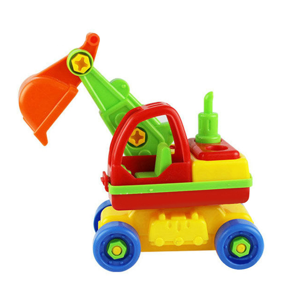 wholesale drop shipping Kids Child Baby Disassembly Assembly Cartoon Car Toy S3JUN12