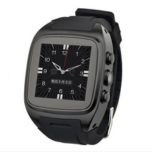 "X01 Smart Watch MTK 6572 Dual Core 1.54 ""экран 512 МБ оперативной памяти 4 ГБ ROM сим-карта Android 5.1 Bluetooth 3 г WI-FI Камера GPS PK ZGPAX S8"