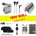 For Nintendo New 3DSXL/LL ( Soft Travel Bag Pouch +Crystal case shell+Car charger+Power Cable+Screen protector+Ear bud)