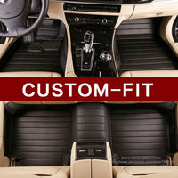 Custom fit car floor mats for Audi A4 A6 A8 Q3 Q5 Q7 car styling heavy duty all weather protection carpet floor liner