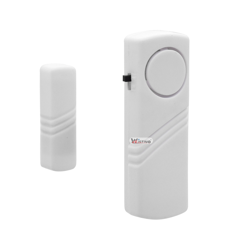 Anti Lost Door Alarm Home Security High Sensitive Alarm Detector Vibration Alarm Device Electric AAA Dry Battery Free Shipping cx007 multifunctional anti full range all round detector alarm
