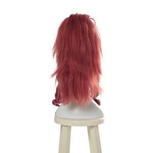 "Image 2 - L דוא""ל פאה LOL KDA Akali קוספליי פאות משחק מהדורת היוקרה K/DA פאת קוספליי סגול קוקו חום עמיד סינטטי שיער"