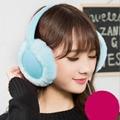 Winter Warm Plush Earmuff Headset 3.5mm Wired Stereo Sleep Headphones Outdoor Sport Headphone for MP3 music Player