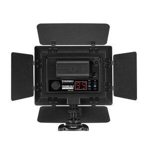 Image 4 - YONGNUO YN300III YN300 III YN 300III 3200k 5500K CRI95 foto de cámara luz LED para vídeo opcional con adaptador de corriente AC + KIT de batería