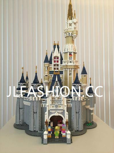 16008 Creator Cinderella Princess Castle City 4080pcs Model Building Mini blocks Block Kid Toys Gift Compatible bricks 71040 lepin 16008 4160pcs cinderella princess castle city model building block kid educational toys for gift compatible legoed 71040