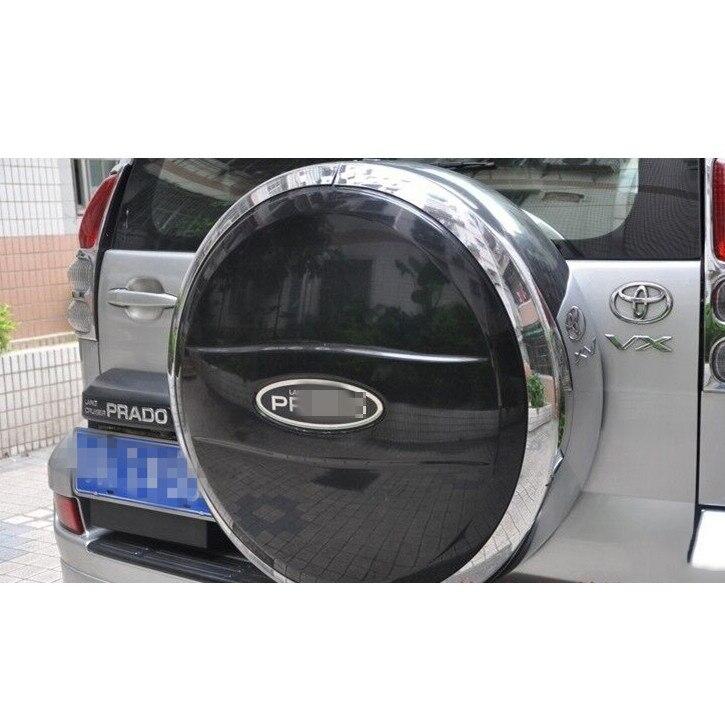 Чехол для автомобильных шин Luhuezu, наклейка на корпус для Toyota Land Cruiser Prado FJ 120 2003-2009 года, аксессуары