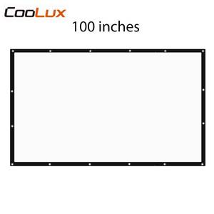100 inch 16:9 Folding Foldable Projection Projector Screen High Brightness Portable Projection Screen