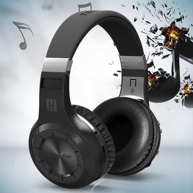 Original Bluedio HT Shooting Brake Wireless Bluetooth Headphones BT 4 1 Version Stereo Bluetooth Headset Built