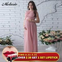 b261326db9e Melario Maternity Dress 2019 Pregnancy Clothes Pregnant Women Lady Elegant  Vestidos Lace Party Formal Evening Dress