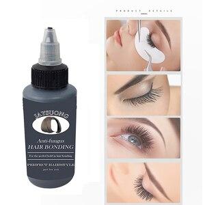 Hair Eyelashes Bonding Glue Glue for Weaving Weft Wig Hair Eyelashes Extensions Waterproof Makeup Faux CilsSuper Bonding Liquid