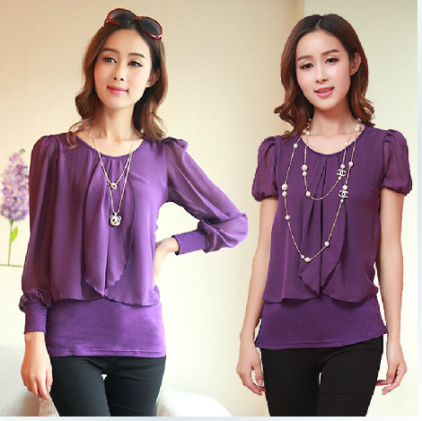 Purple Shirts Women Promotion-Shop for Promotional Purple Shirts ...