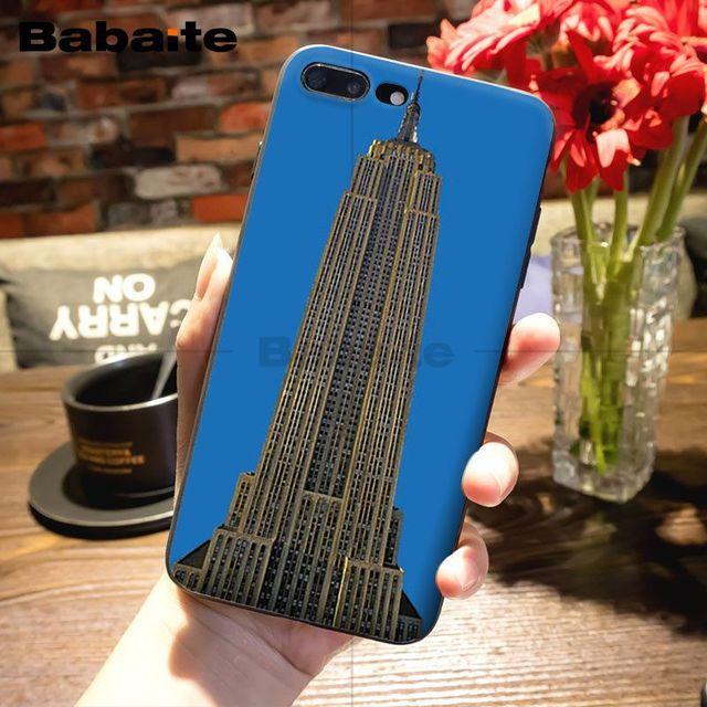 Чехол для телефона Babaite Empire State Building, чехол для iPhone X XS MAX 6 6s 7 7plus 8 8Plus 5 5S SE XR 11 11pro 11promax