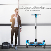 IRALAN A9 10inch Smart self Balancing Electric Scooter two wheel Hoverboard With Handle Bluetooth Speaker Samsung battery