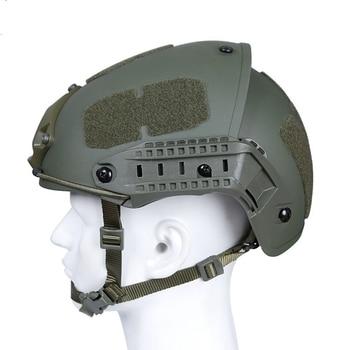 Head Circumference 52-64cm Helmet Tactical Helmet Airsoft Paintball Wargame Gear CS FAST Helmet