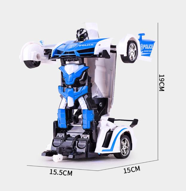 RC Transformer Robot Car Toy